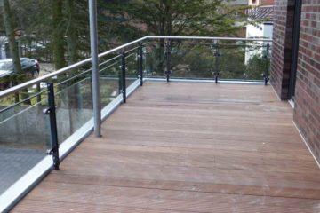 Geländer, Balkone, Brüstungen